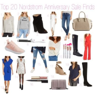 My Top 20 Nordstrom Anniversary Sale Finds