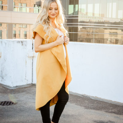 Oversized Vest + Tips For Shopping at SheIn