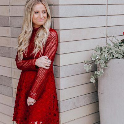 Fall/Winter Wedding Guest Dress